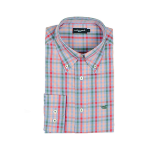 Mens Southern Marsh Cumberland Dress Shirt in Lilac & Pink - Brother's on the Boulevard