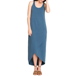 Womens Nic + Zoe Cupro Boardwalk Dress in Washed Rich Indigo - Brother's on the Boulevard