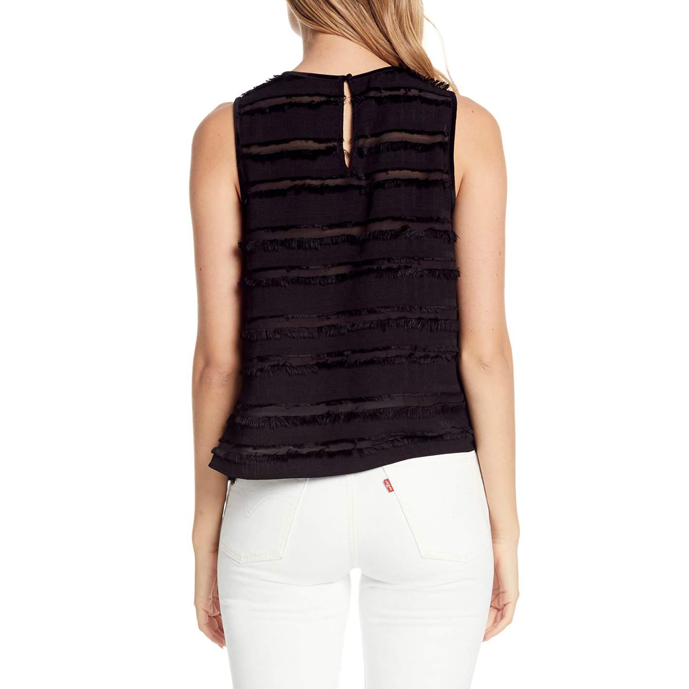 Womens Michael Stars Elbos Sleeve Swing Tank in Black - Brother's on the Boulevard