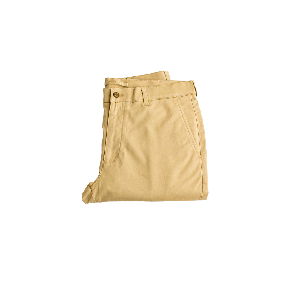Mens Duck Head Gold School Chino Slack in Sand - Brother's on the Boulevard