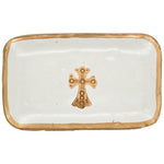 Claremont Clays Medium Rectangle Tray in Hazelnut