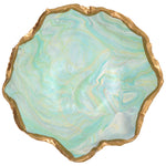 Claremont Clays Jagged Edge Bowl in Turquoise