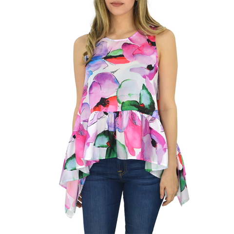 Womens Catherine Kate Susanna Tank in Botanica - Brother's on the Boulevard