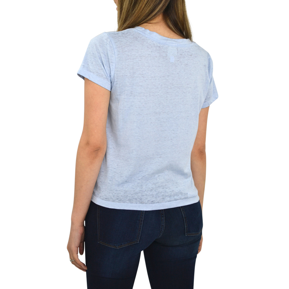 Womens Weekend Vibes Beckett Tie Top in Chatblue - Brother's on the Boulevard