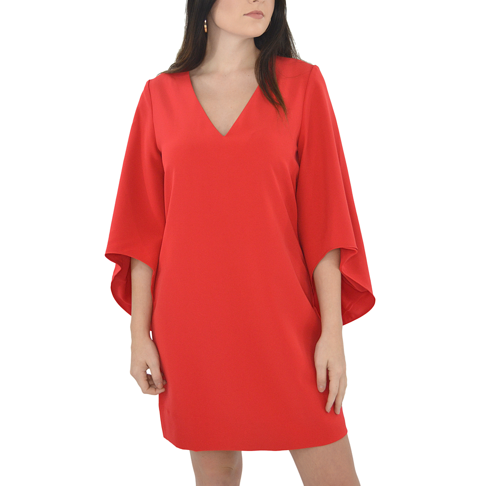 Womens Crosby Oliva Dress in Red - Brother's on the Boulevard