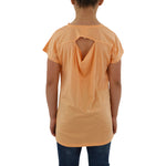 Tween Girls Weekend Vibes Girls Jersey Tail Tee in Orange - Brother's on the Boulevard
