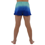 Tween Girls Weekend Vibes Girls Dip Dye Shorts in Poolmint - Brother's on the Boulevard
