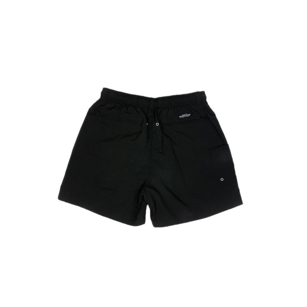 Mens Southern Marsh Dockside Swim Trunks in Black - Brother's on the Boulevard