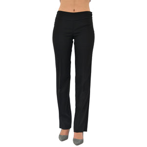 Womens UP! Montreal Dressy Straight Pant in Black - Brother's on the Boulevard