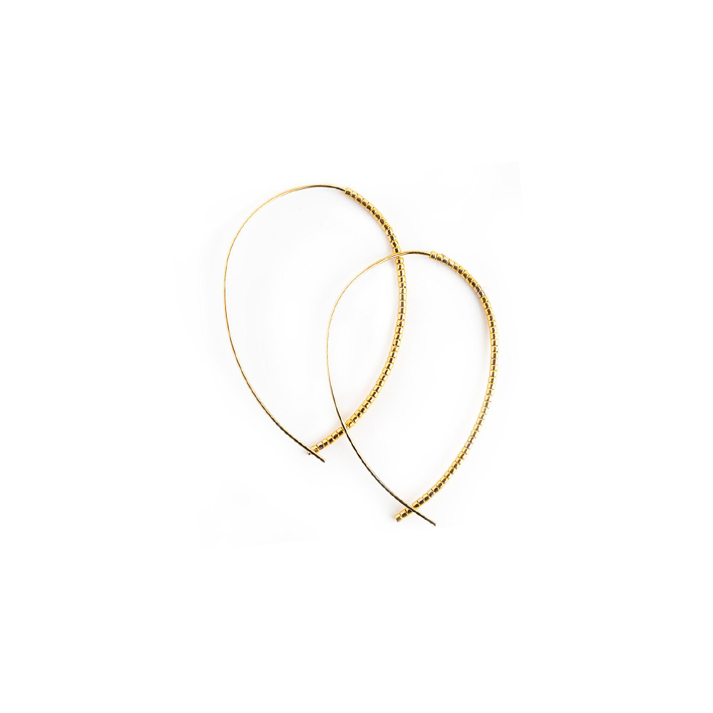 Lenny & Eva Norah Gold Earring in Gold