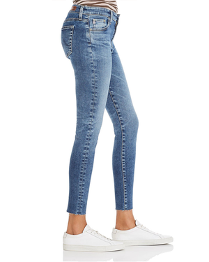 Womens AG Jeans The Farrah High Rise Skinny Ankle in 12 Years Fluid - Brother's on the Boulevard