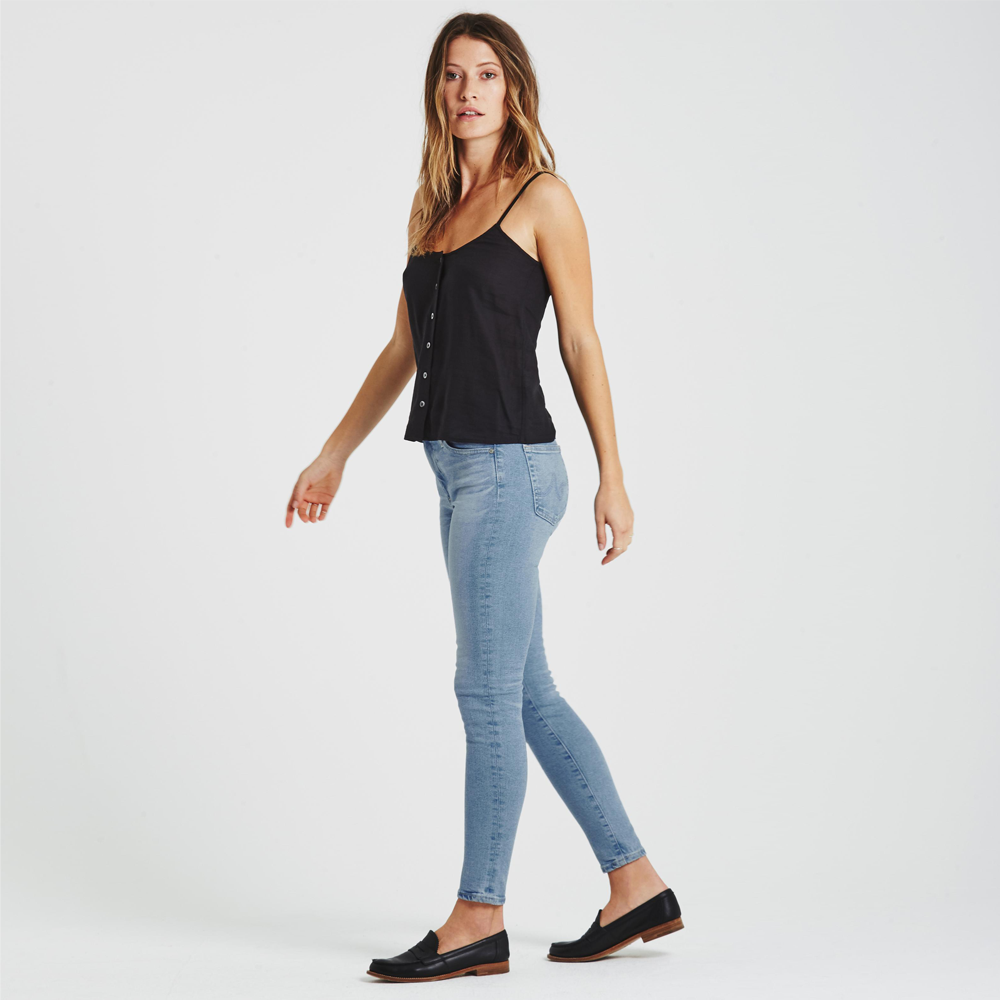 Womens AG Jeans The Farrah Mid Rise Ankle Skinny in 19 Years Ransom - Brother's on the Boulevard