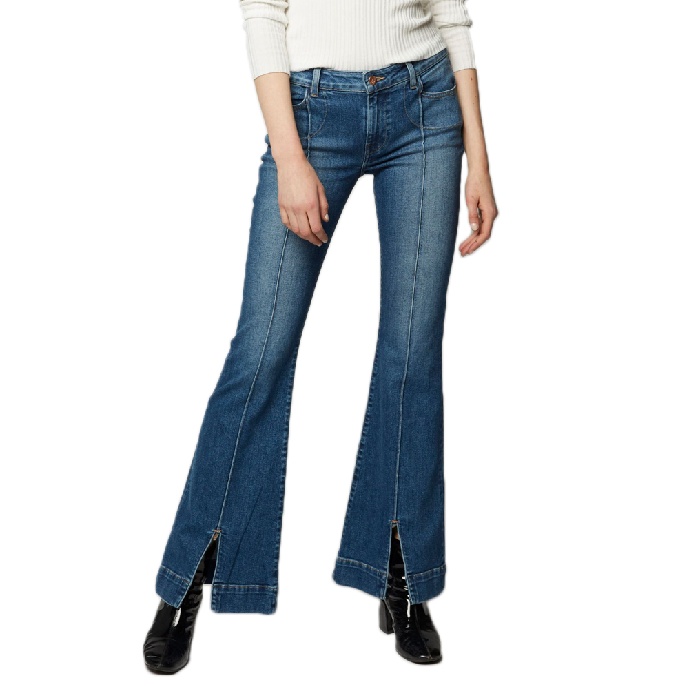 EMG Denim Rory Flare Jean in Blume