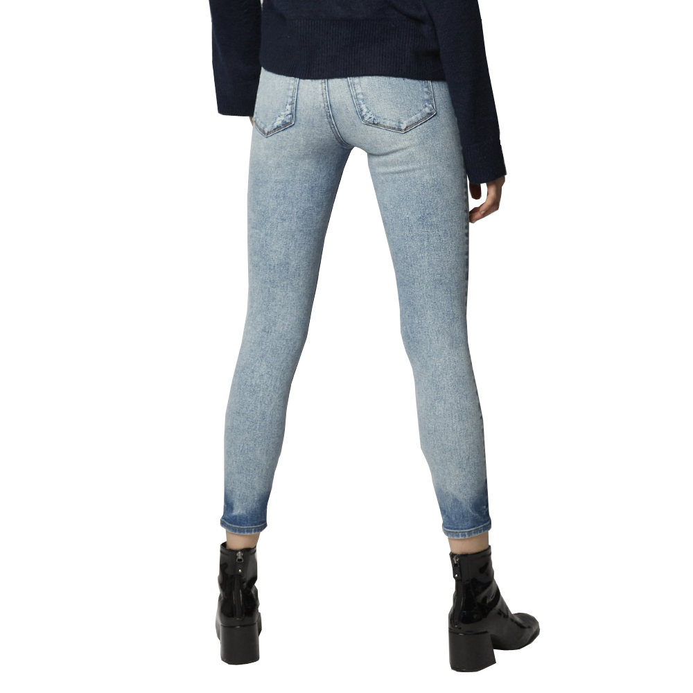 Womens EMG Denim Greta High Rise Cropped Skinny Jean in Voodoo - Brother's on the Boulevard