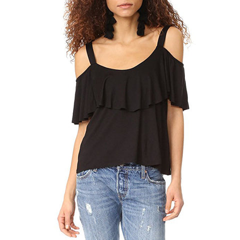 Ella Moss Bella Envelope Cami in Black