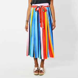 Womens Rouge Maxi Skirt in Multicolor - Brother's on the Boulevard