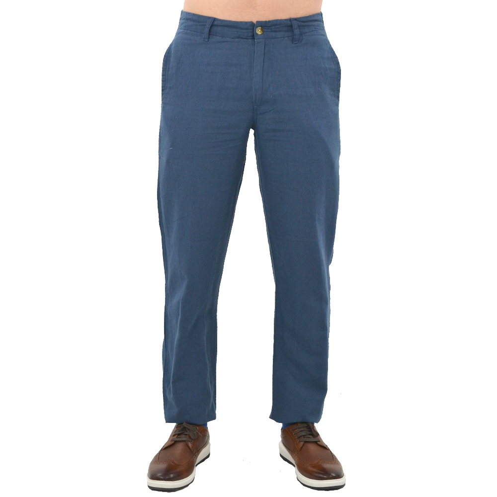 Margaritaville Lorelei Solid Pant in Fathom Blue