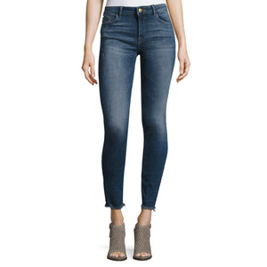 Womens DL 1961 Premium Denim Florence Instasculpt High Rise Crop Skinny in Nugget - Brother's on the Boulevard