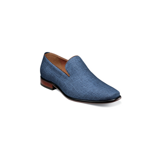 Mens Florsheim Uptown Wingtip Dress Shoe in Blue - Brother's on the Boulevard