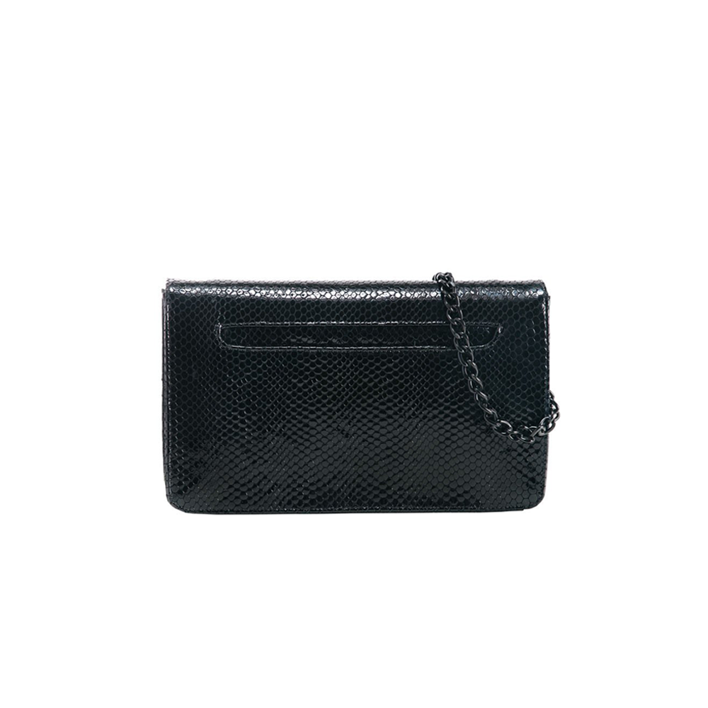 Womens Kelly Wynne Forever Classy Clutch in Navy and Obsidian - Brother's on the Boulevard