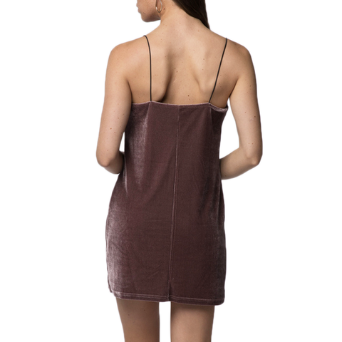 PPLA Frankie Knit Dress in Taupe