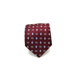 Mens Giannini Necktie in Red - Brother's on the Boulevard