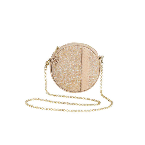 Kelly Wynne Halo Bag in Sugar Cube