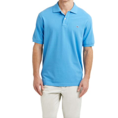 Vineyard Vines Classic Pique Polo in Harbor Cay