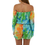 Womens Askari Hazel Romper in Sunset - Brother's on the Boulevard