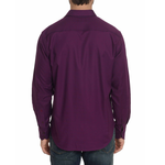 Mens Robert Graham Hearst Sport Shirt in Berry - Brother's on the Boulevard