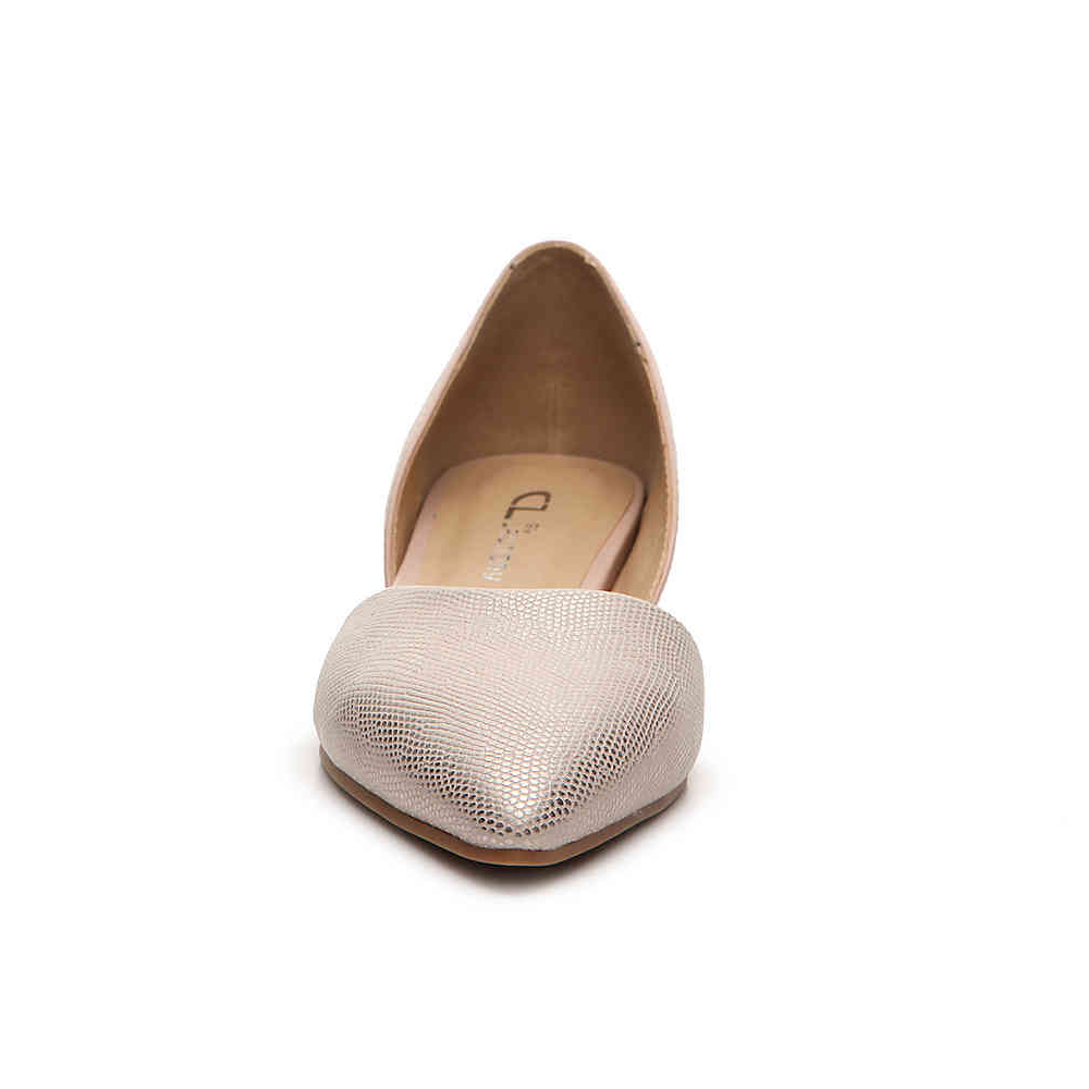 Womens Chinese Laundry Hearty Pointed Toe Flat in Rose Gold - Brother's on the Boulevard