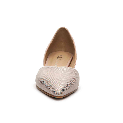 Chinese Laundry Hearty Pointed Toe Flat in Rose Gold