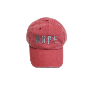 Womens Brother's Hope Hat in Red - Brother's on the Boulevard
