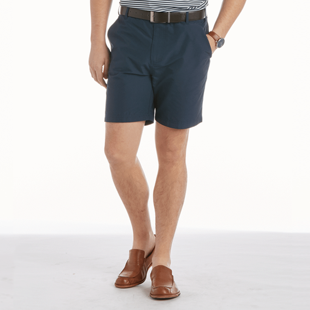 Mens Southern Proper River Hybrid Shorts in Navy - Brother's on the Boulevard