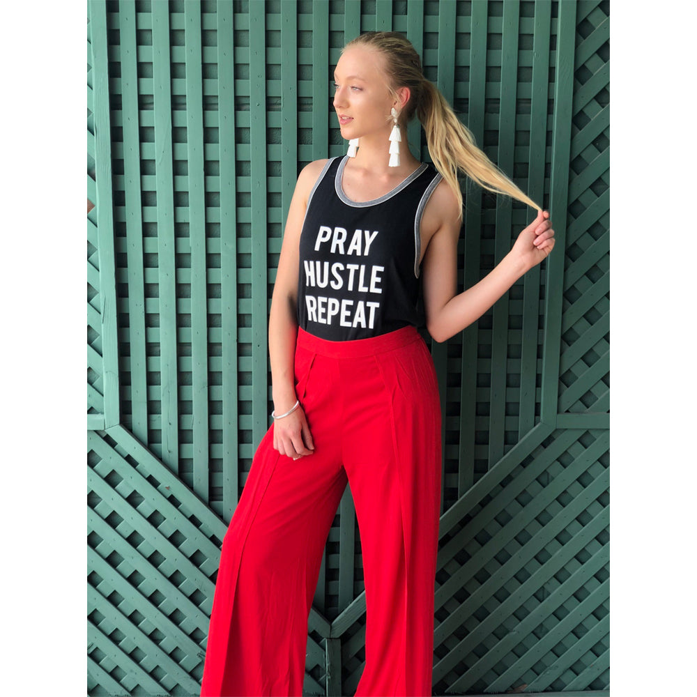 Womens Michael Stars Tulip Pant in Salsa - Brother's on the Boulevard