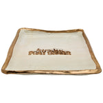 Home Claremont Clays Pray Bigger Square Tray in Hazelnut - Brother's on the Boulevard