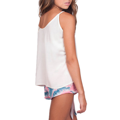 Tween Girls Catherine Kate Island Time Cami in Ivory