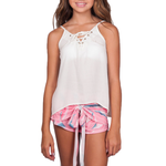 Catherine Kate Girls Island Time Cami in Ivory