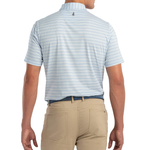 Mens Johnnie-O Prep-formance Kiawah Polo in Gulf Blue - Brother's on the Boulevard