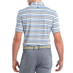 Mens Johnnie-O Prep-formance Levi Polo in Gulf Blue - Brother's on the Boulevard