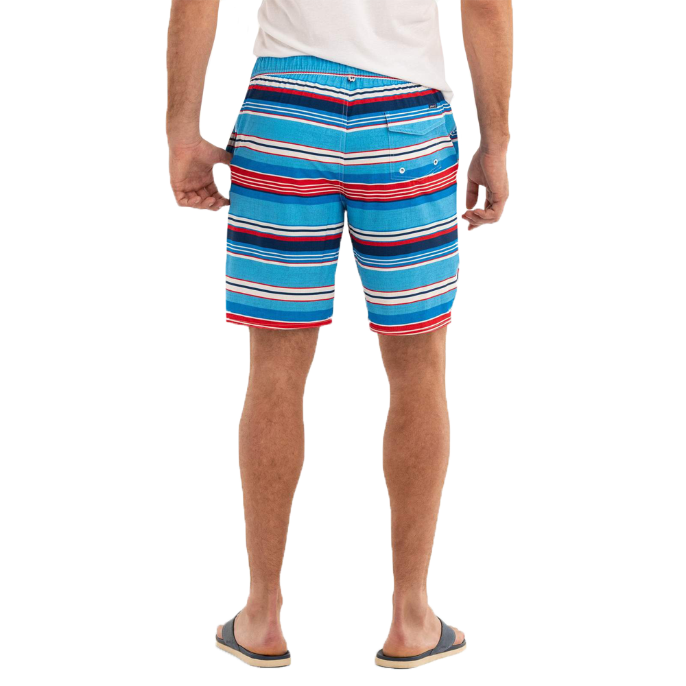 Mens Johnnie-O Edisto Half Elastic Surf Shorts in Breaker - Brother's on the Boulevard