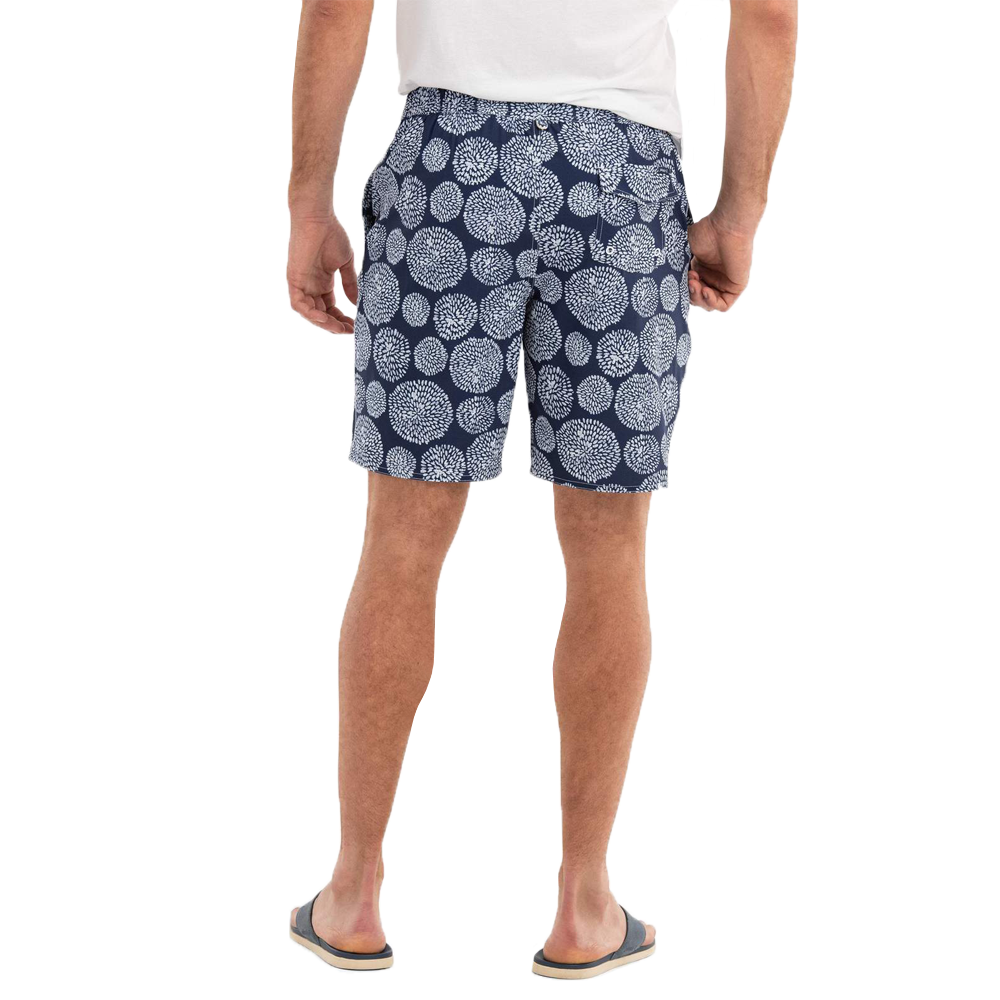 Mens Johnnie-O Seaside Seaside Half Elastic Surf Short in Twilight - Brother's on the Boulevard