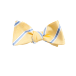 Mens Collared Greens James Bow Tie in Yellow - Brother's on the Boulevard