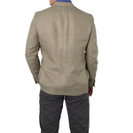 Mens Michael Kors Keith Blazer in Tan - Brother's on the Boulevard