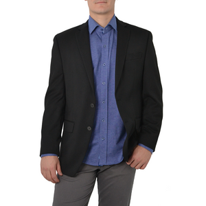 Mens Michael Kors Keith Blazer in Black - Brother's on the Boulevard