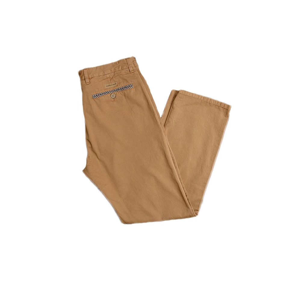 Mens Southern Marsh Seawash Grayton Twill Pant in Khaki - Brother's on the Boulevard