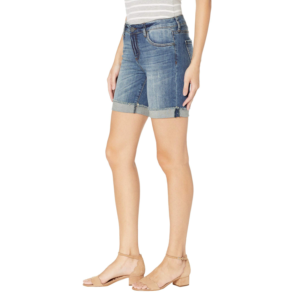Womens Kut from the Kloth Catherine Denim Shorts in Uphold - Brother's on the Boulevard
