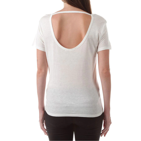 Womens Rouge Sunday Over Monday Shirt in White - Brother's on the Boulevard