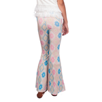 Tween Girls Weekend Vibes Girls Sunrise Flares in Fire Sign Pastel - Brother's on the Boulevard