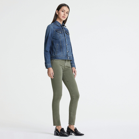 Womens AG Jeans The Prima in Sulfur Dried Agave - Brother's on the Boulevard
